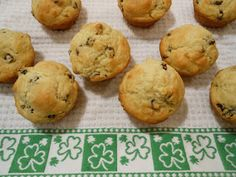 Flavors by Four: Irish Soda Bread Muffins