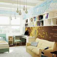 Z19 to wyjątkowy dom z kategorii projekty domów z garażem dwustanowiskowym Corner Desk, Furniture, Home Decor, Corner Table, Room Decor, Home Interior Design, Home Decoration, Interior Decorating, Home Improvement