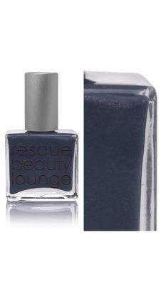 Rescue Beauty Lounge - Catherine H.  Got this for a song on eBay!!!  Much prettier than this picture shows, it's a country blue with a hint of gray, some blue & purple shimmers hiding if you look closely.