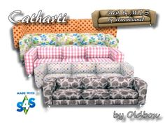 Recolors Couch Catharti by Oldbox at All 4 Sims • Sims 4 Updates