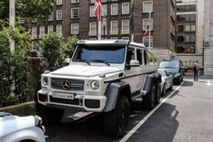 Parking woes for the Mercedes-Benz G63 AMG 6x6: Flickr photo of the day | Motoramic - Yahoo Autos