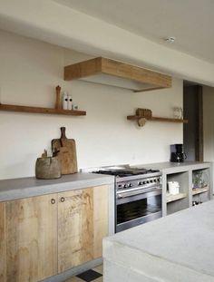 Super gaaf in een betonnen aanrechtblad. Beton wordt steeds vaker gebruikt als aanrechtblad in een keuken. De oorzaak dat beton..