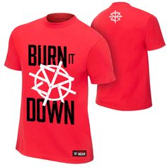 WWE Wear - The Official Shirt of the WWE Superstars Classic Fit 100% cotton  Screen