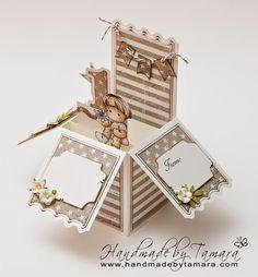 Handmade by Tamara: Little cute Edwin box card