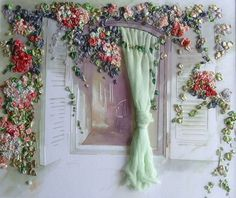 Wonderful Ribbon Embroidery Flowers by Hand Ideas. Enchanting Ribbon Embroidery Flowers by Hand Ideas. Embroidery Designs, Types Of Embroidery, Embroidery Supplies, Learn Embroidery, Silk Ribbon Embroidery, Cross Stitch Embroidery, Embroidery Patterns, Hand Embroidery, Embroidery Needles
