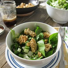 Crispy Bok Choy Ramen Salad | Baking in the Attic