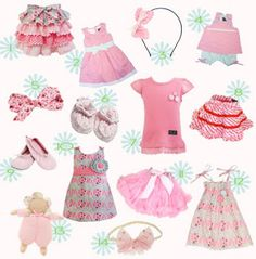 Pink Baby Clothes http://shannonssewandsew.com is full of great baby stuff!