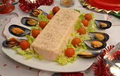 PASTEL DE MARISCO, tipo mousse. - Las Recetas de Guada Mousse, Canapes, Tapas, Sushi, Seafood, Mexican, Dinner, Eat, Ethnic Recipes
