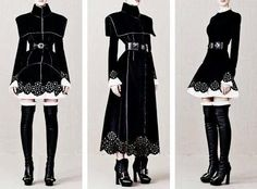 Dress or Dress like clothes Lolita Mode, Style Lolita, Lolita Fashion, Gothic Fashion, Gothic Mode, Character Outfits, Mode Inspiration, Writing Inspiration, Fashion Sketches