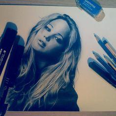 Jennifer Lawrence Fan Art