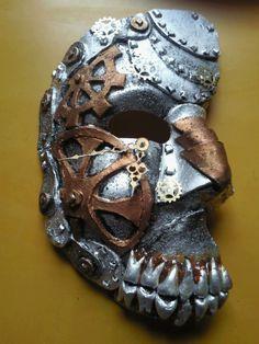 Retro Bronze/black Metallics Rubber Steampunk Pipeline Gas Mask Gothic Punk Game Women/men Halloween Cosplay Costume Accessories Good Taste Kids Costumes & Accessories