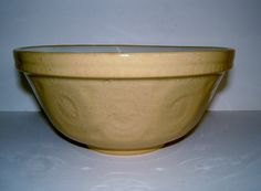 1950s Stoneware Vintage Mixing Bowl Vintage Kitchenalia Vintage Serving Vintage Table Vintage Housewares by BiminiCricket on Etsy https://www.etsy.com/listing/186070148/1950s-stoneware-vintage-mixing-bowl