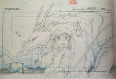 Studio Ghibli Layout Designs - Le voyage de Chihiro