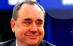 Alex Salmond. And I have met him too. And babbled like an idiot. The man has amazing charisma, no  matter what you think about his politics!