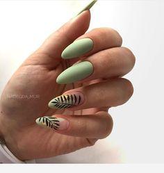Medium nails, amazing color in 2019 Classy Nails, Stylish Nails, Trendy Nails, Bright Nails, Minimalist Nails, Nagel Gel, Best Acrylic Nails, Dream Nails, Creative Nails