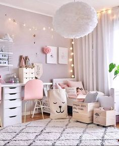 Girls Room Decor Ideas to Change The Feel of The Room Do you want to decorate a woman's room in your house? Here are 34 girls room decor ideas for you. Tags: girls room decor, cool room decor for girls, teenage girl bedroom, little girl room ideas Cool Room Decor, Bedroom Decor, Light Bedroom, Bedroom Lighting, Girls Room Wall Decor, Bedroom Furniture, Girl Decor, Master Bedroom, Bedroom Wall