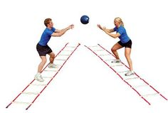 Power-Systems 30650 Pro Agility Ladder on Sale Today Volleyball Drills, Coaching Volleyball, Agility Ladder Drills, Kodiak Canvas, Agility Workouts, Ladder Workout, Basketball Systems, Rope Ladder, Gross Motor Activities