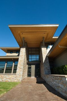 Modern View Home by Hillside Contracting - contemporary - Exterior - Other Metro - River City Rock Products Ltd.