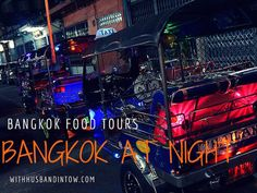 We took a midnight tuk tuk tour with Bangkok Food Tours, to explore the city through some of its most famous street eats in a famous form of transportation.