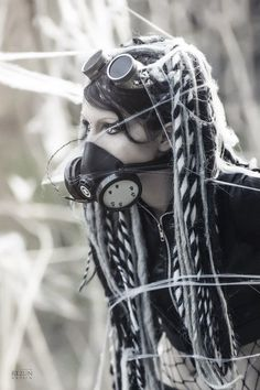 sekigan:  cyber goth | Fashion: Cyber goth | Pinterest