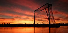 Hockey Sunset *_*