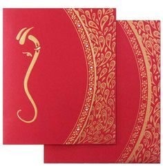 Amazingly beautiful ! This contemporary Hindu wedding invitation card will set the right tone for your upcoming wedding announcement. Go ahead and order at www.regalcards.com .