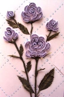 Quilling Seasons: roses