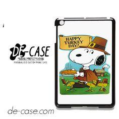 Snoopy Happy Turkey Day DEAL-9759 Apple Phonecase Cover For Ipad Mini 2, Ipad Mini 3, Ipad Mini 4
