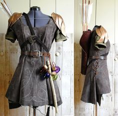 Elven Ranger Outfit by PirateLotus-Stock