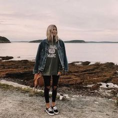 80 Cute Casual Winter Fashion Outfits For Teen Girl Fall Winter Outfits, Autumn Winter Fashion, Spring Outfits, Trendy Outfits, Fashion Outfits, Dress Winter, Hipster Girl Outfits, Surfer Girl Outfits, Laid Back Outfits
