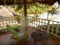 Caye Casa view from veranda