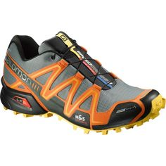 Salomon - Speedcross 3 Climashield Trail Running Shoe - Men's - Light TT/ Clementine-X/Bee-X