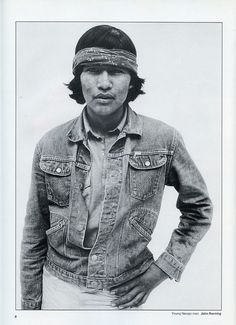 Young Navajo Man by John Running (Old Chum, via Flickr)