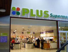 Mijn favourite supermarkt is de  PLUS. Omdat ze heel veel snoep verkopen.