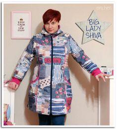 Doppelnaht: mein neuer mantel {bigladyshiva} (ebook von mialuna)