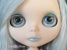 New Soft Resin OOAK REALISTIC custom Blythe eye chips set C18 , by Ana Karina…
