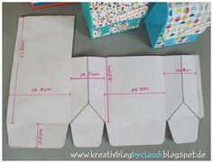 Wie versprochen gibt es heute den Vergleich der Größen S, M und L und die dazugehörige Anleitung.     Wer das Punchboard für Geschenktüten ...