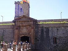Barcelona: The fortress at Montjuic