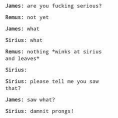 oblivious James