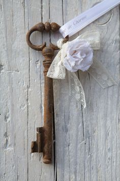 old key as art.