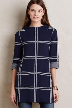 Paned Sweater Tunic - anthropologie.com