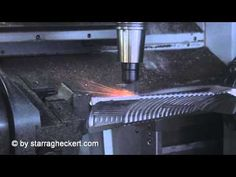 ▶ Machining of an inconel turbine blade using ceramic tooling on a Starrag LX 251 - YouTube