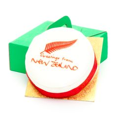 New Zealand Greetings Cake NewZealand Gifts Presents Birthday