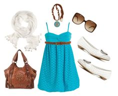 """turquoise"" by wishlist123 ❤ liked on Polyvore featuring Forever 21, Gucci, H&M, Dr. Scholl's, GIO BERNARDES, women's clothing, women, female, woman and misses"