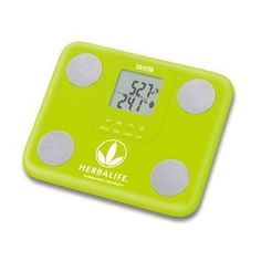 Green Herbalife Round Logo Tanita BC730 InnerScan Mini Compact Body Composi