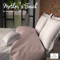 Made from 100% combed and mercerised cotton, #MothersTouch from #BoutiqueLiving!