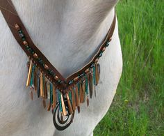 Rhythm Beads Horse Necklace Trail Beads for by CopperTreeDesign, $50.00