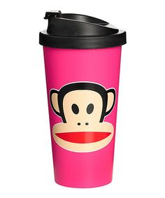 Look what I found on #zulily! Pink Paul Frank 16.9-Oz. To-Go Cup #zulilyfinds