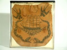 A tattoo specimen showing a large portion of skin from the chest. Via Surgeons'…