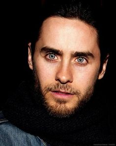 Jared Leto  amazing blue eyes